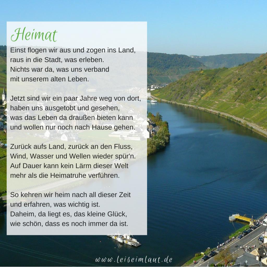 Gedicht Heimat Mosel
